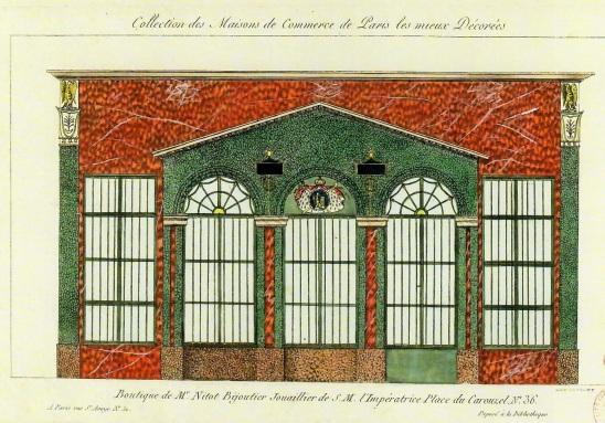 Boutique de Mr Nitot, Place du Carrousel n°36