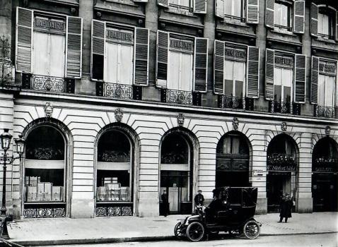 Chaumet 12 place vendome, 1907