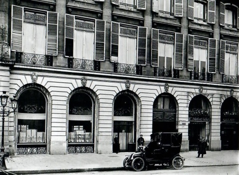 Chaumet 12 place vendome, 1907