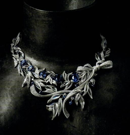 collier lauriers 'firmament apollonie', colecton 'la nature de chaumet', 2016