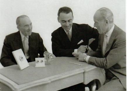Julien, Jacques et Louis Arpels, vers 1950.jpg
