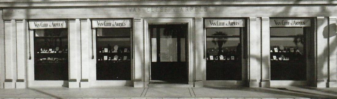 La boutique Van Cleef & Arpels à Cannes, 1959